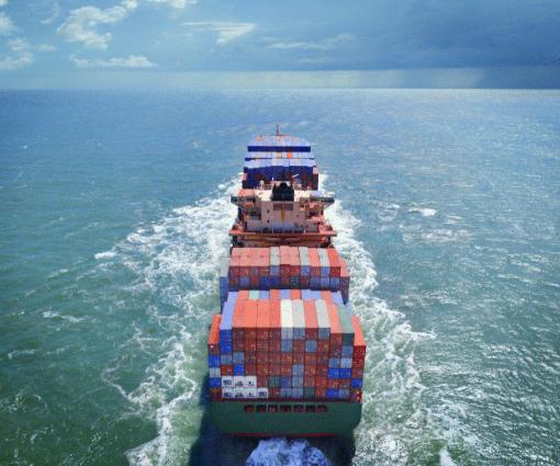 Renoncer à l'aérien pour le transport maritime